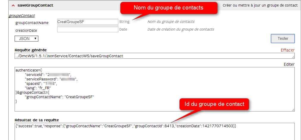 saveGroupContact