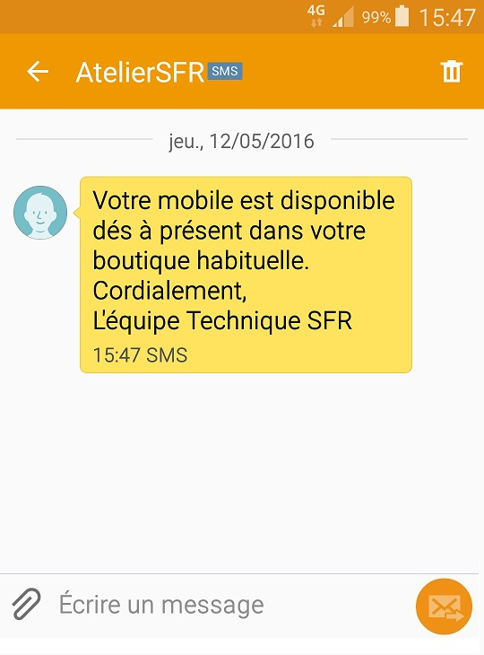 DMC - SMS avec OADC