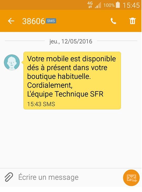 DMC - SMS sans OADC